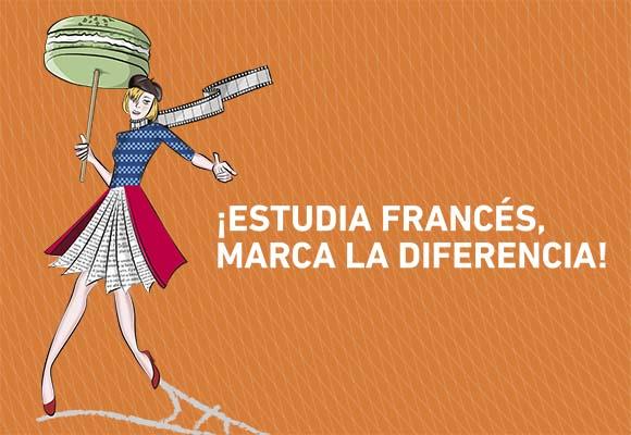 ¡Marca la diferencia, estudia francés!