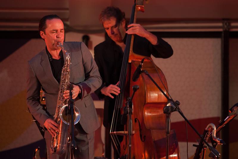 David Marcos Quartet au Festival de jazz européen ChileEuropa 2016