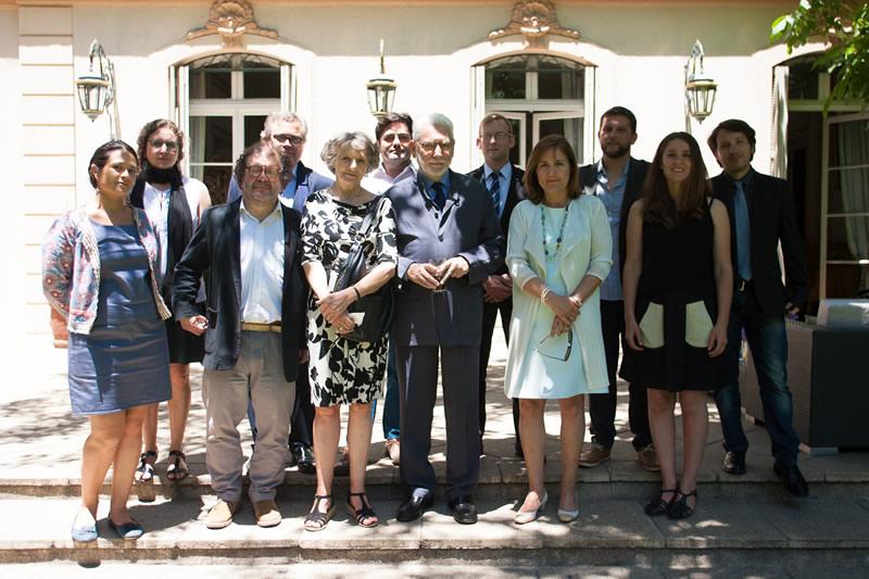 Rencontre à la résidence de France en l'honneur des anthropologues Philippe Descola et Anne-Christine Taylor