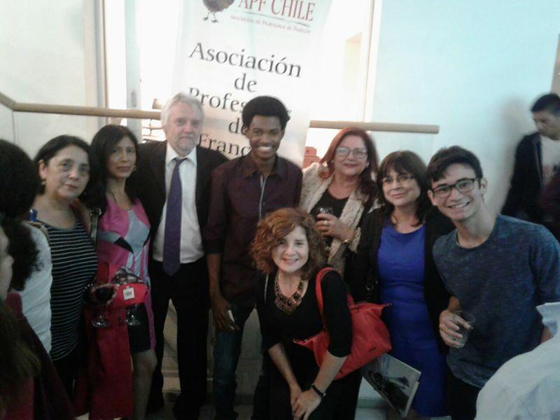 ¡Éxito rotundo en la noche de poesía francófona, 29 de marzo, La Chascona!