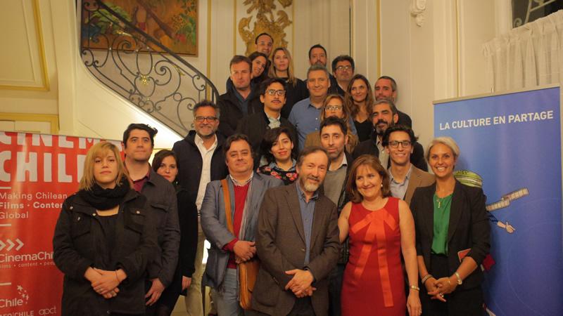 Delegación chilena que parte al Festival de Cannes 2017 se despide en la Residencia de Francia