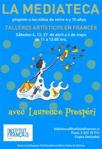 Talleres artísticos en francés para niños @ Instituto Francés de Chile | Providencia | Región Metropolitana | Chile