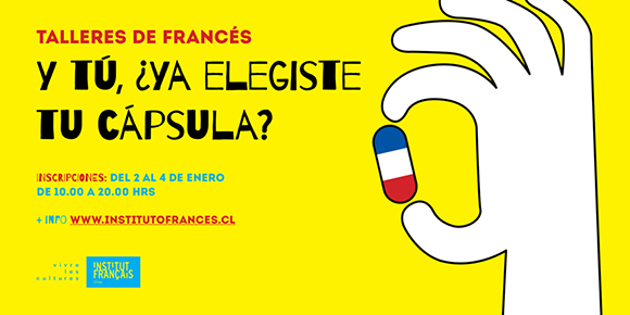 Talleres de francés:  ¡elige tu cápsula!