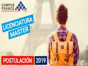 ¿Sueñas con estudiar en Francia ? Las postulaciones 2019-2020 ya están abiertas!