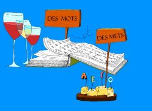"[:es]Taller literario en francés ""Des Mots et des Mets""[:fr]Atelier littéraire ""Des Mots et des Mets""[:] @ Mediateca Instituto Francés de Chile | Providencia | Región Metropolitana | Chili"