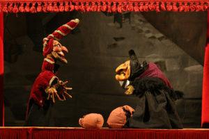 """Marionetas : la compañía Pelele presenta """"Pendiente de un hilo"""" y """"La Muerte de Don Cristóbal"""""""