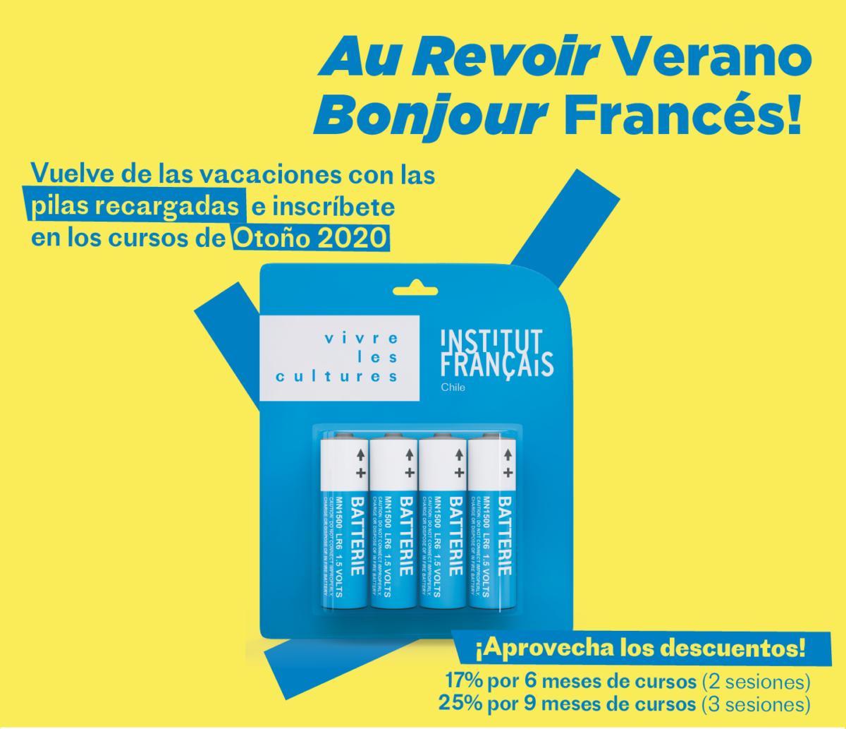 CURSOS DE FRANCÉS OTOÑO 2020
