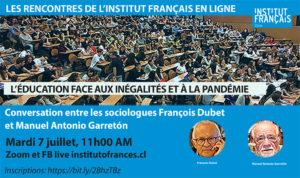 Conférence en ligne : L'éducation face aux inégalités et à la pandémie.