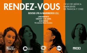[:es]RENDEZ-VOUS - Ciclo de música emergente de Francia y Chile[:fr]RENDEZ-VOUS - Cycle de musiques émergentes de France et du Chili[:]