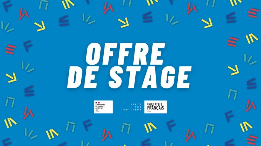 El Instituto Francés de Chile propone prácticas en cooperación cultural