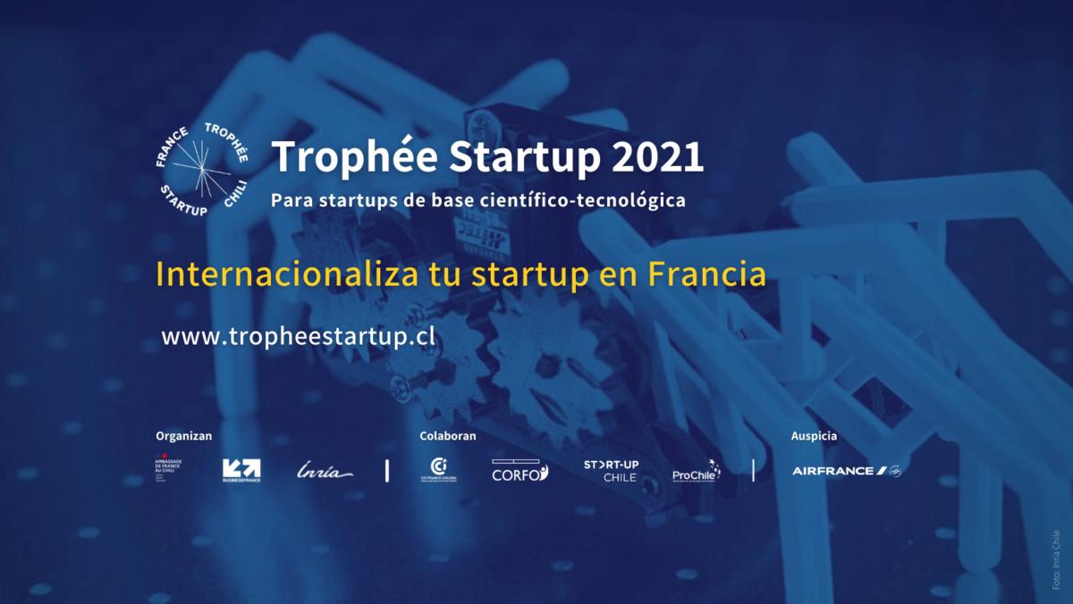 El Trophée Startup 2021 ya cuenta con sus 6 finalistas